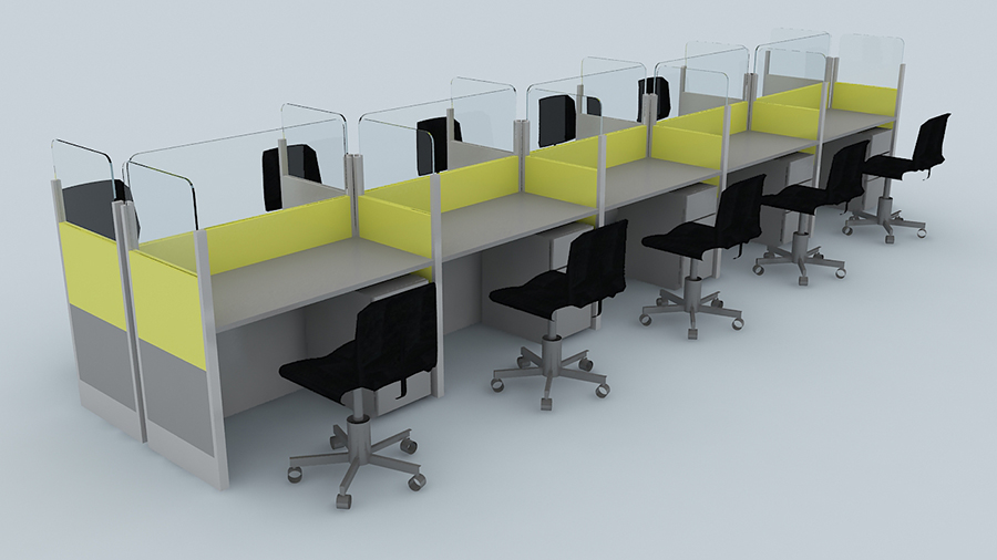Productos for Muebles para call center